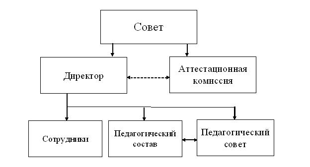 структура автономная некоммерческая организация